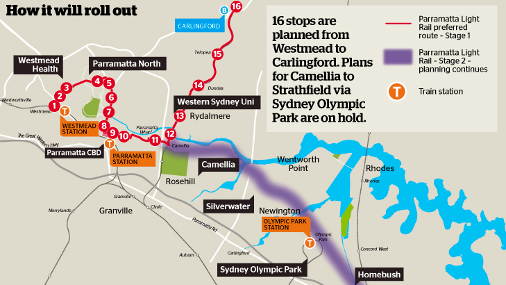 Map: Sydney Morning Herald